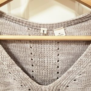 Anthropologie Sweaters - Anthropologie Moth Gray Layered Aselin Pullover